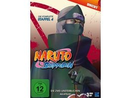 Naruto Shippuden Staffel 4 Uncut 3 DVDs