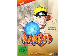 Naruto Die komplette Staffel 7 Uncut 4 DVDs