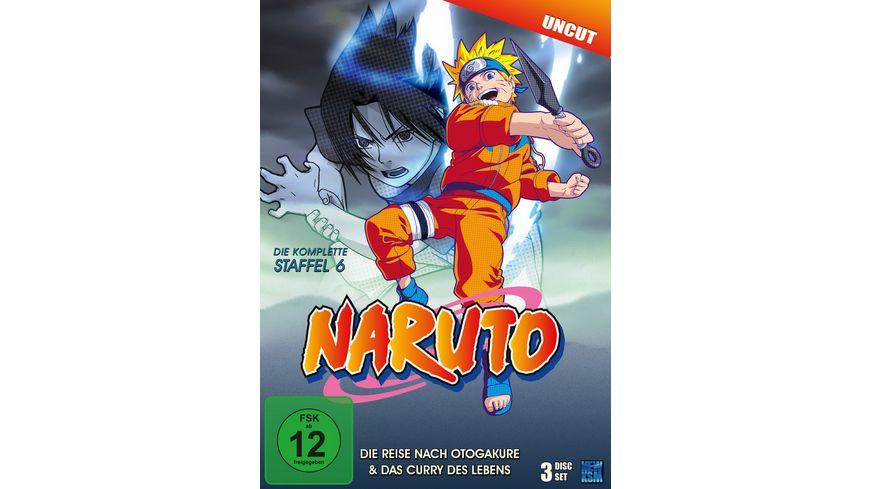 Naruto Die komplette Staffel 6 Uncut 3 DVDs