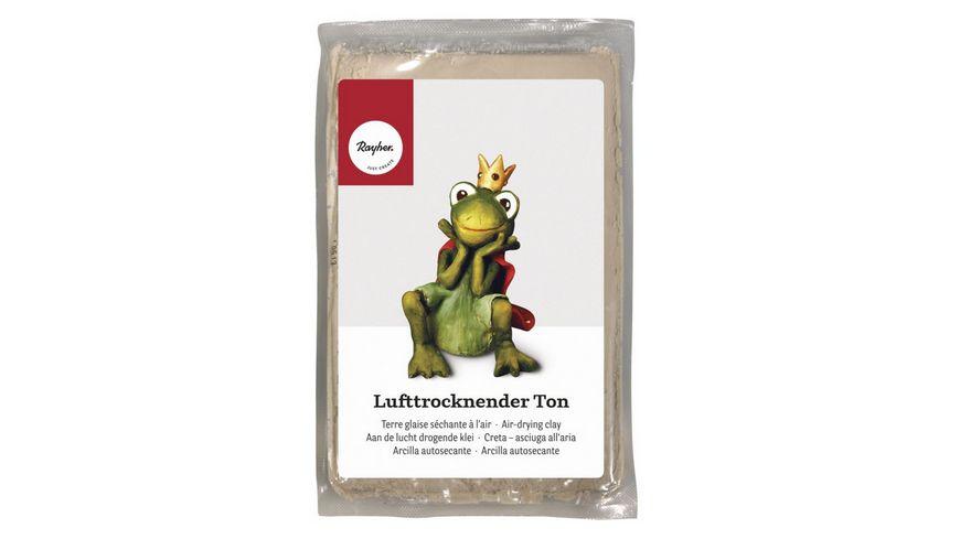 Rayher LUFTTROCKNENDER TON WEISS 3450102