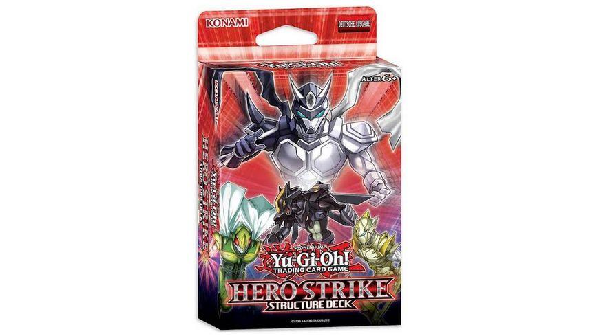 Yu Gi Oh Sammelkartenspiel Structure Deck Hero Strike