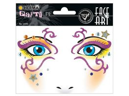 Herma Face Art Sticker Mystery