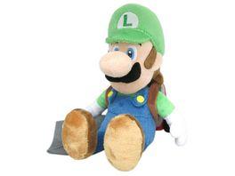 Nintendo Luigi mit Staubsauger Pluesch 26cm