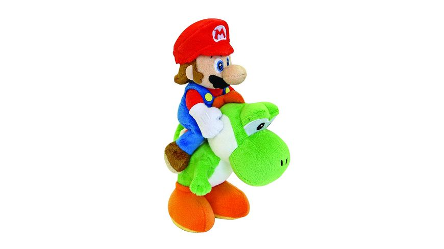 Nintendo Mario & Yoshi 22cm Plüsch