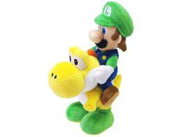 Nintendo Luigi Yoshi 22cm Pluesch