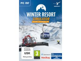 Winter Resort Simulator Seilbahn I Pistenraupe
