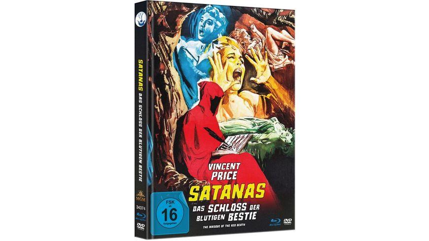 Satanas Das Schloss der blutigen Bestie Uncut Limited Mediabook Edition plus Booklet HD neu abgetastet DVD