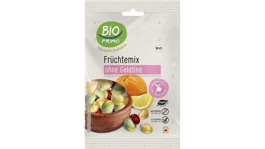 BIO PRIMO Frucht-Gummi Früchte Mix - ohne Gelantine