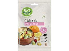 BIO PRIMO Frucht Gummi Fruechte Mix ohne Gelantine