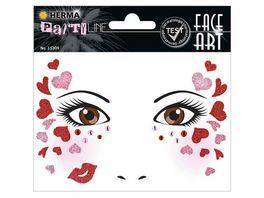 Herma Face Art Sticker Love