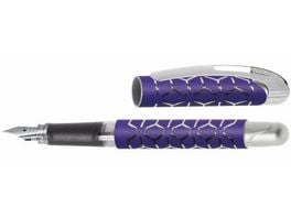 ONLINE Fuellhalter College Purple Style Silver M