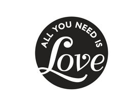 Rayher LABELS GB ALL YOU NEED IS LOVE 45MM 34310000 0