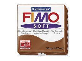 FIMO SOFT MODELLIERMASSE CARAMEL 56G