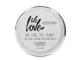 WE LOVE THE PLANET Natuerliche Deodorant Creme So Sensitive