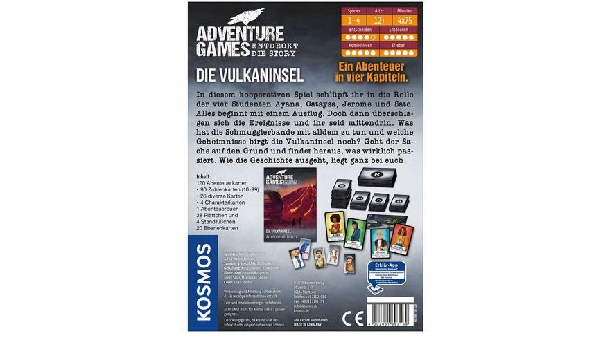 KOSMOS Adventure Games Die Vulkaninsel