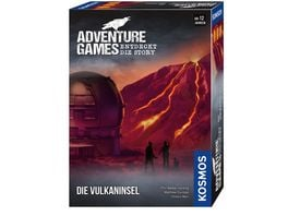 KOSMOS Adventure Games Die Vulkaninsel
