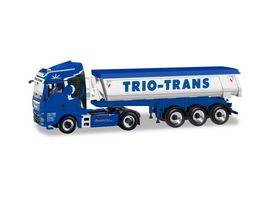 Herpa 310673 MAN TGX XLX Euro 6c Thermomulden Sattelzug Trio Trans
