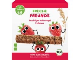 Freche Freunde Bio Fruchtiger Haferriegel Erdbeere 6x30g