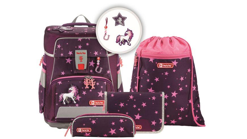 Step by Step Space Schulranzen Set 5teilig Unicorn