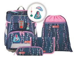Step by Step Space Schulranzen Set 5teilig Mermaid