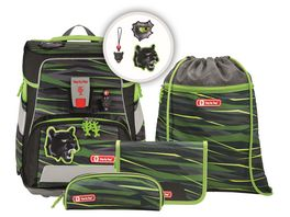 Step by Step Space Schulranzen Set 5teilig Wild Cat