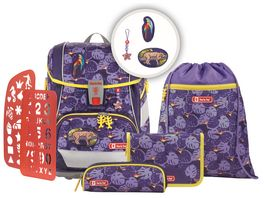 Step by Step 2IN1 PLUS Space Schulranzen Set 6teilig Jungle Cat