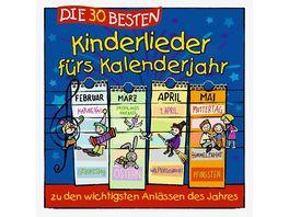 Die 30 Besten Kinderlieder Fuers Kalenderjahr
