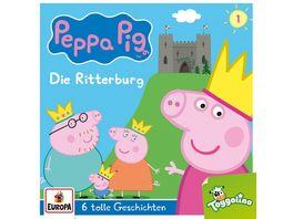 001 Die Ritterburg und 5 weitere Geschichten