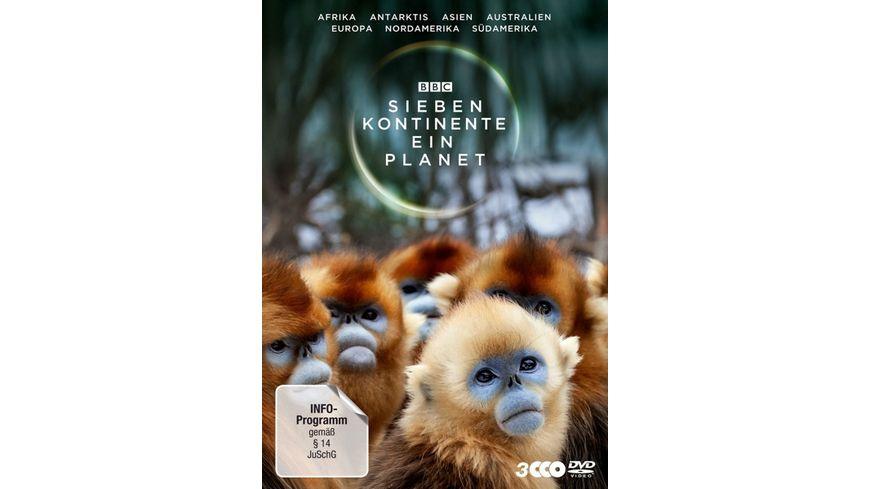 Sieben Kontinente Ein Planet 3 DVDs