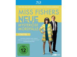 Miss Fishers neue mysterioese Mordfaelle Staffel 1 2 BRs