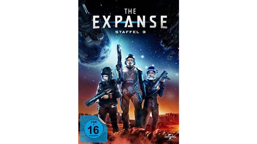 The Expanse - Staffel 3  [4 DVDs]