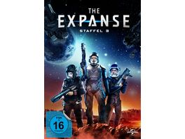 The Expanse Staffel 3 4 DVDs