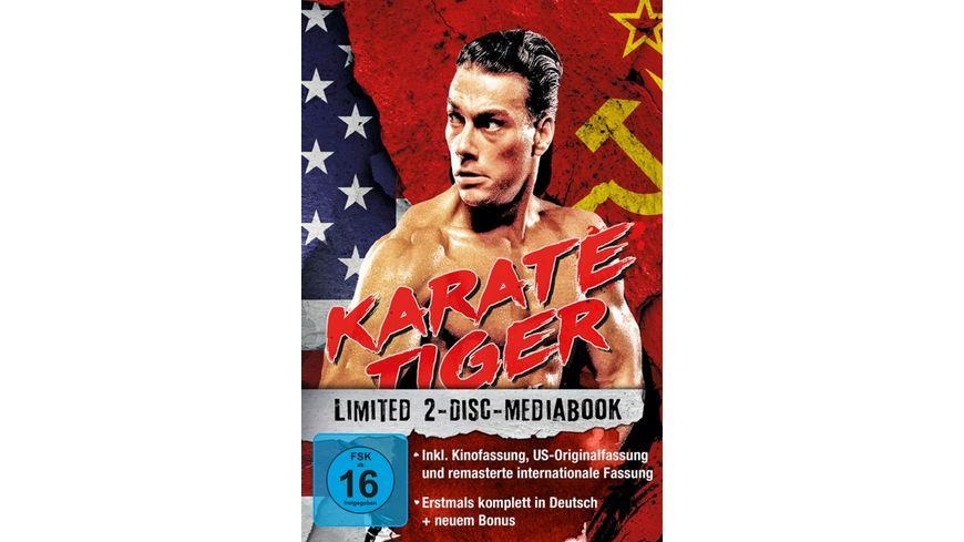 Karate Tiger - 2-Disc-Mediabook - US-Originalfassung LTD.  [2 BRs]