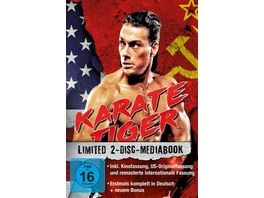 Karate Tiger 2 Disc Mediabook US Originalfassung LTD 2 BRs