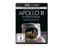 Apollo 11 4K Ultra HD Blu ray 2D