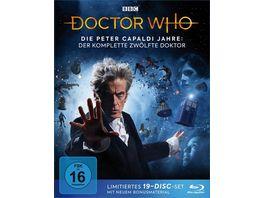Doctor Who Die Peter Capaldi Jahre Der komplette 12 Doktor 19 BRs