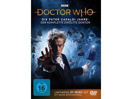 Doctor Who Die Peter Capaldi Jahre Der komplette 12 Doktor LTD 21 DVDs