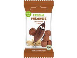 Freche Freunde Bio Muesliwuerfel Kakao