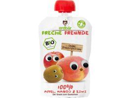 Freche Freunde Bio Quetschie Apfel Mango Kiwi