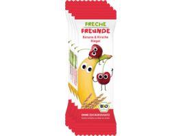 Freche Freunde Bio Riegel Banane Kirsche 4x23g