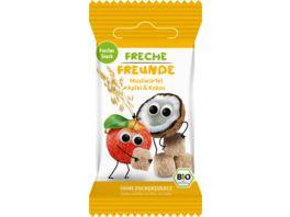 Freche Freunde Bio Muesliwuerfel Apfel Kokos
