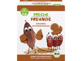 Freche Freunde Bio Kakaokekse mit Dattelstueckchen