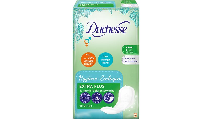 Duchesse Hygiene Einlagen Extra Plus