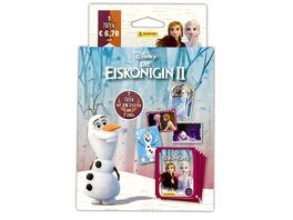 Panini Frozen 2 Sticker und Trading Cards Blister