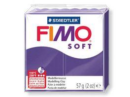FIMO 8020 63 soft Ofenhaertende Modelliermasse pflaume