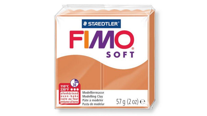 FIMO 8020 76 soft Ofenhaertende Modelliermasse cognac