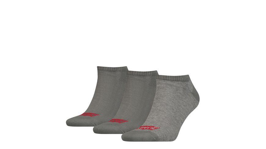 Levis Herren Sneaker Socken Low Cut Logo 3er Pack