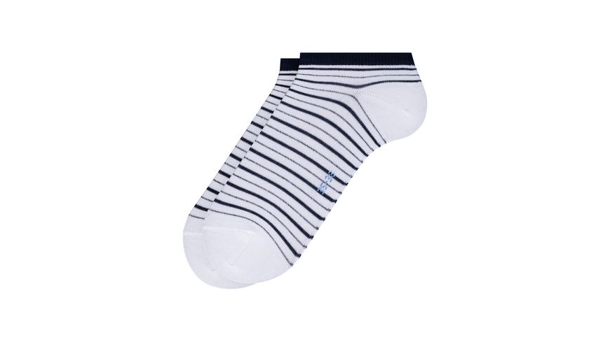 FALKE Damen Sneaker Socken Stripe Shimmer