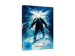 John Carpenter s THE THING 3 Disc Mediabook Edition Struzan DVD Bonus Blu ray