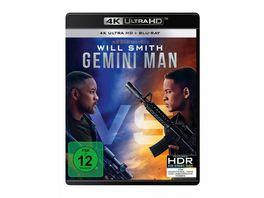 Gemini Man 4K Ultra HD Blu ray 2D